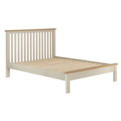 Portland Oak & Cream Painted Bed - 3ft (90cm) Single Bed