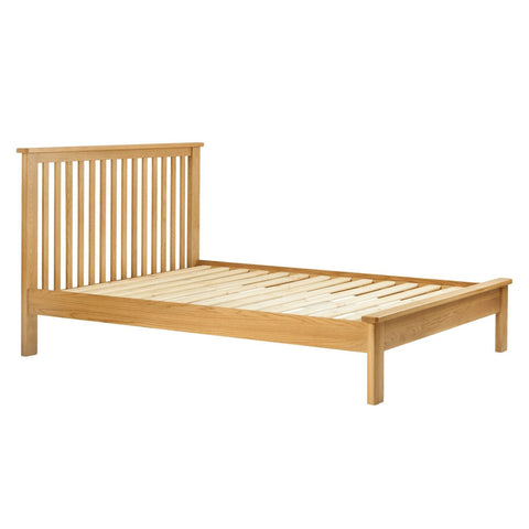 Portland Oak Bed - 4ft6
