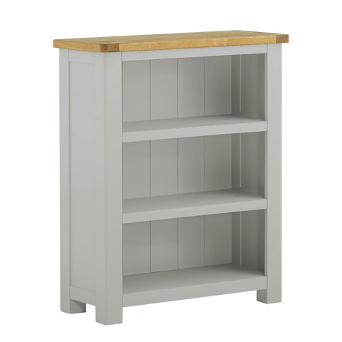Portland Oak and Painted Small Bookcase