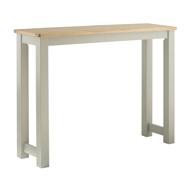 Portland Oak & Painted Breakfast Bar
