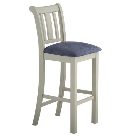 Portland Oak & Painted Bar Stool