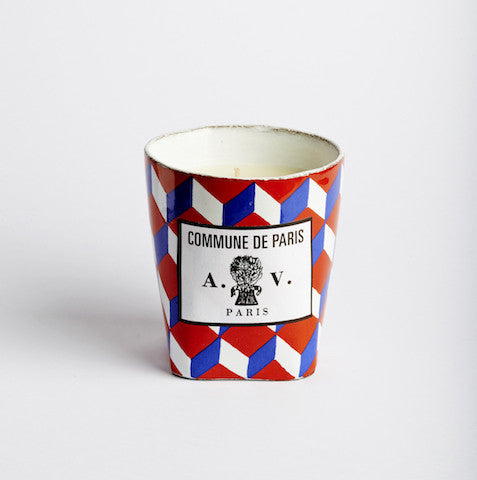 Astier de Villatte Commune de Paris candle