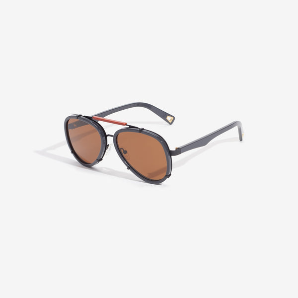 Lucy Folk Frequent Flyer Granite sunglasses