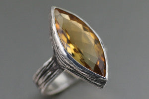 Are You Looking for a Stunning Citrine Cocktail Ring?