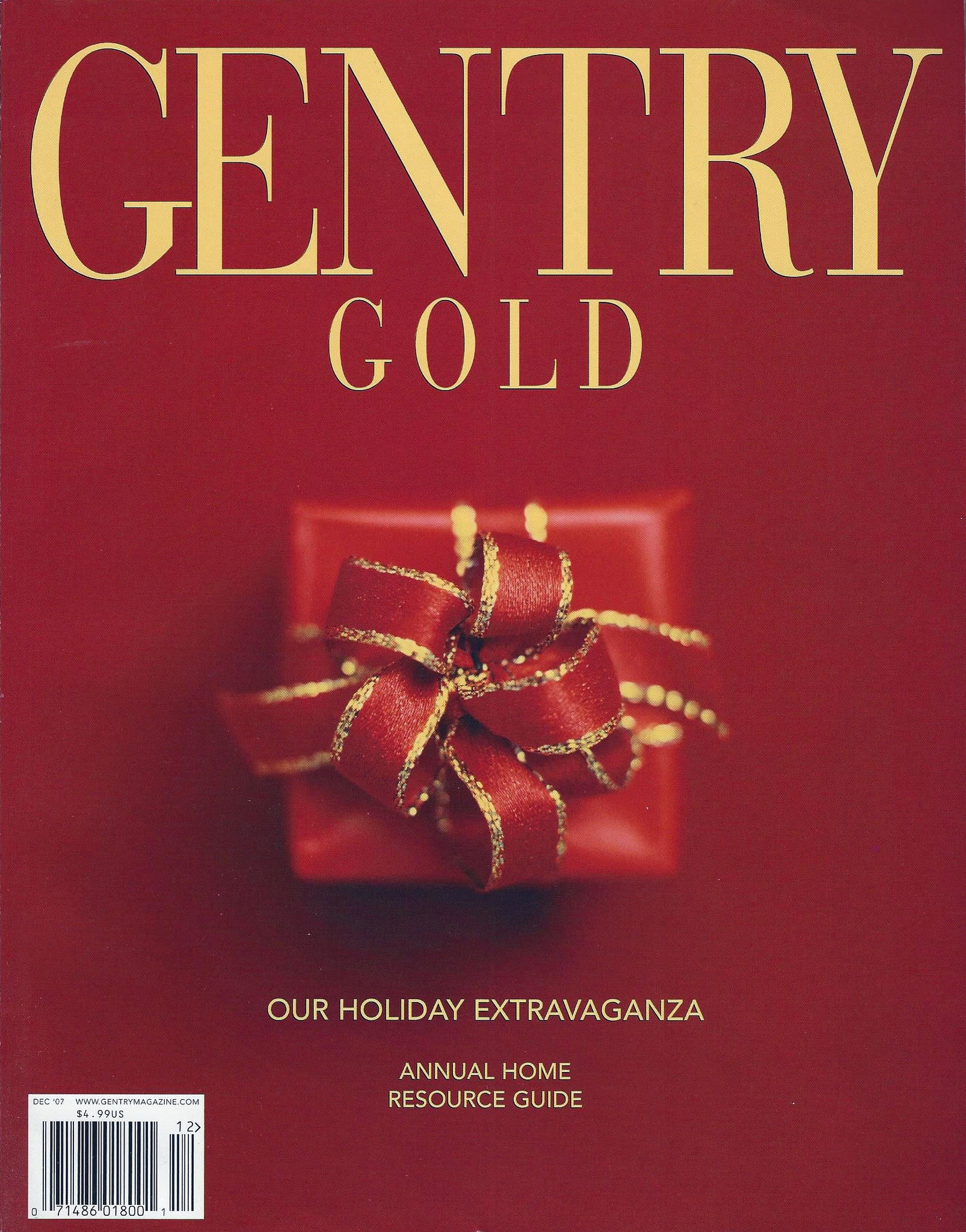 Gentry Magazine - Features 18K Faceted Amethyst Earrings by John S Brana