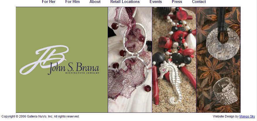 Launch of Handcrafted Fine Jewelry by John S. Brana