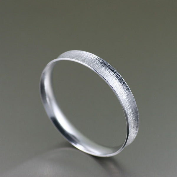 Linen Aluminum Bangle Bracelet