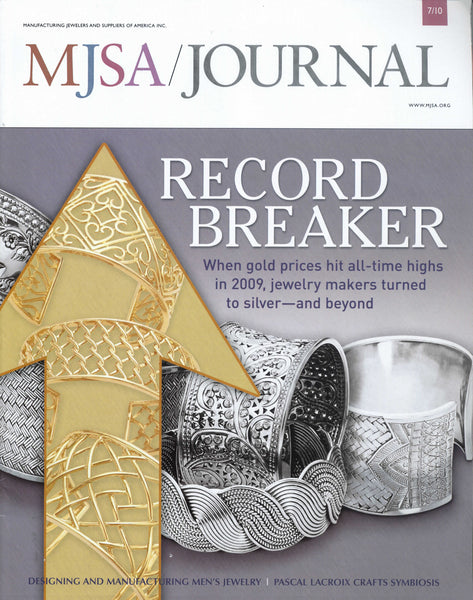 MJSA - Manufacturing Jewellers and Suppliers of America Features Men's Jewelry by John S. Brana