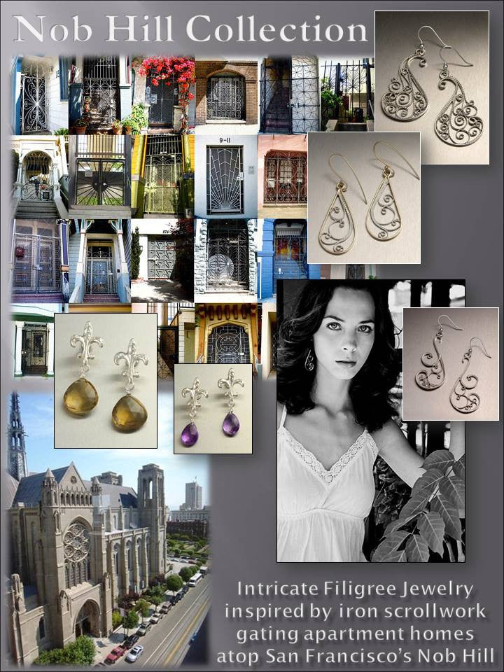 Nob Hill Filigree Jewelry Collection