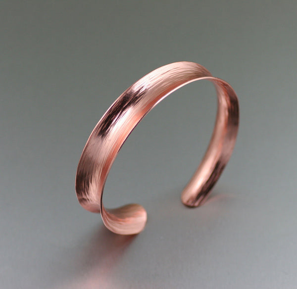 Anticlastic Copper Bark Bangle Bracelet