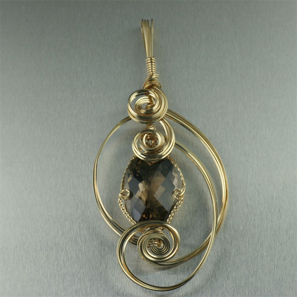 Smoky Quartz Gemstone Jewelry Collection