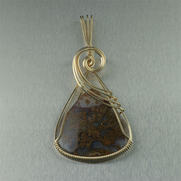 Handmade Natural Gemstone Pendants