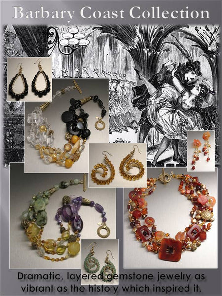 Barbary Coast Beaded Gemstone Jewelry Collection