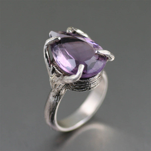 Amethyst Gemstone Jewelry Collection