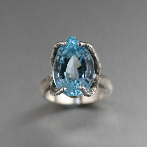 Blue Topaz Gemstone Jewelry Collection