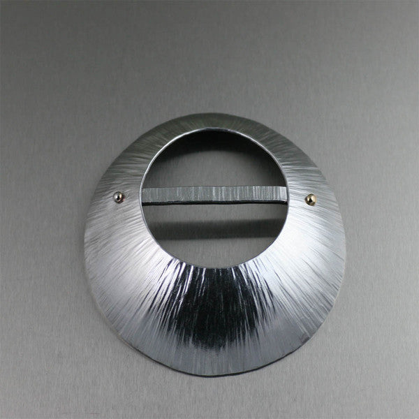 Aluminum Scarf Ring Collection