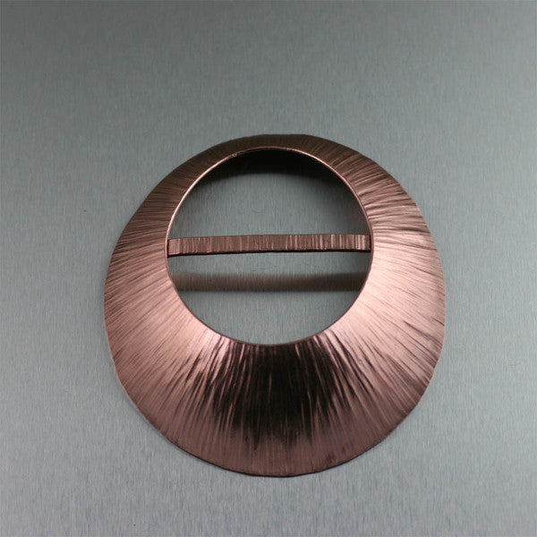 Copper Scarf Ring Collection