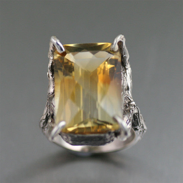 Citrine Gemstone Jewelry Collection