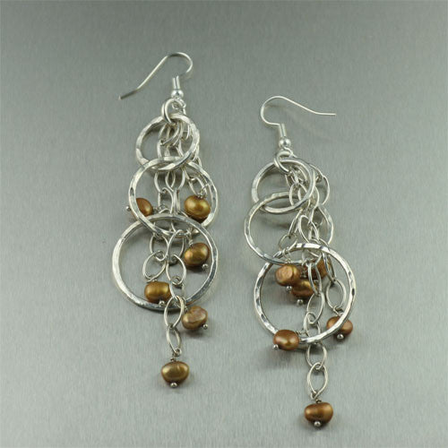 Handmade Pearl Earrings Collection