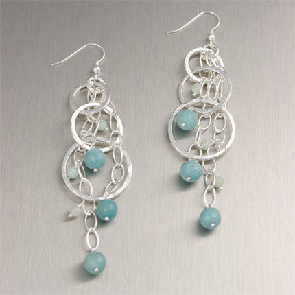 Amazonite Gemstone Jewelry Collection