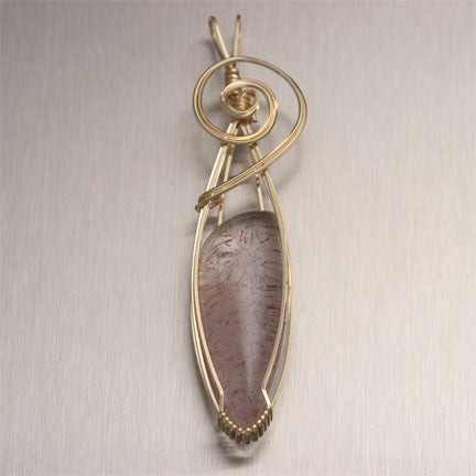 Lepidochrosite Gemstone Jewelry Collection