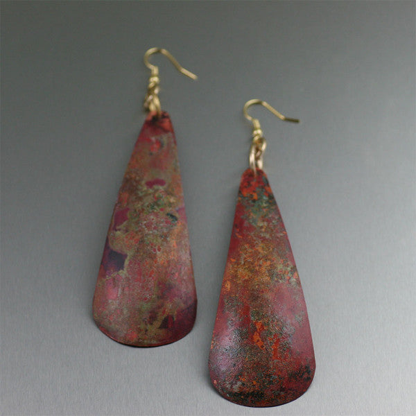 Muir Woods Patinated Earrings Collection
