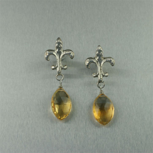 Nob Hill Fleur-de-lis Earrings Collection