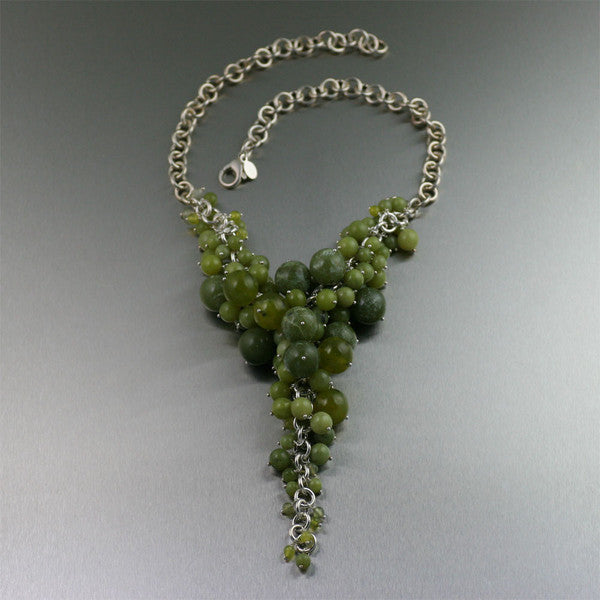 Sonoma Chainmail Gemstone Necklace Collection