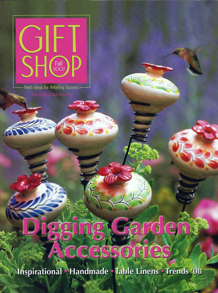 Gift Shop Magazine - Fall 2007 - Features John S. Brana