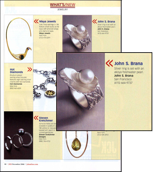 jckonline.com December 2006 Features John S. Brana