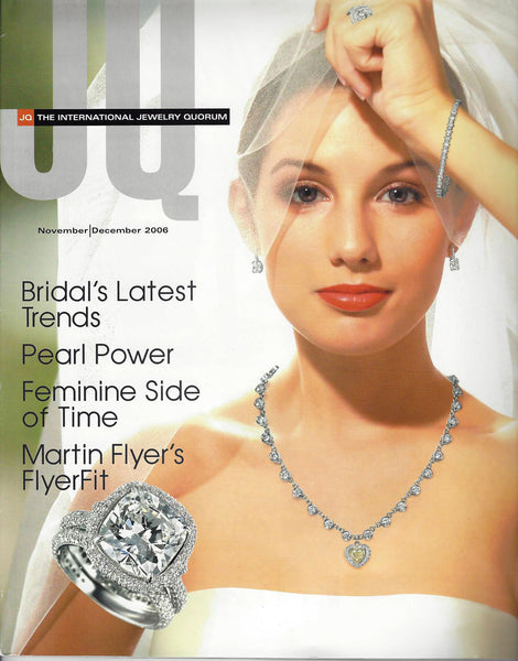 International Jewelry Quorum Nov-Dec 2006 Features Handmade Jewelry by San Francisco jewelry designer John S Brana