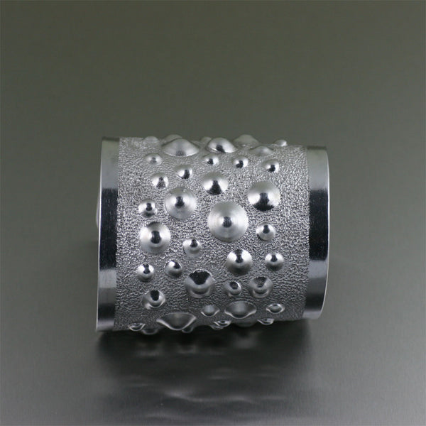 Moonscape Aluminum Cuff – Side