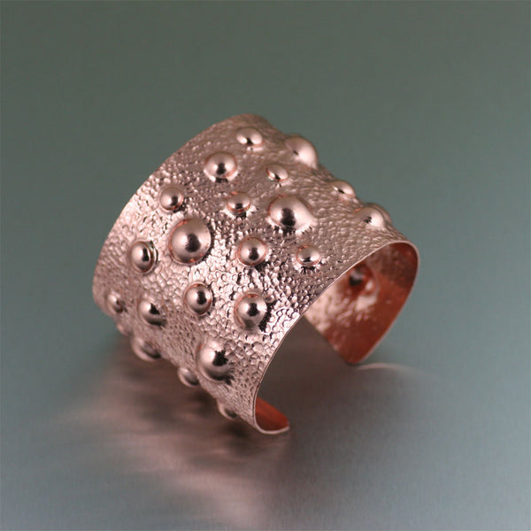 Moonscape Copper Cuff