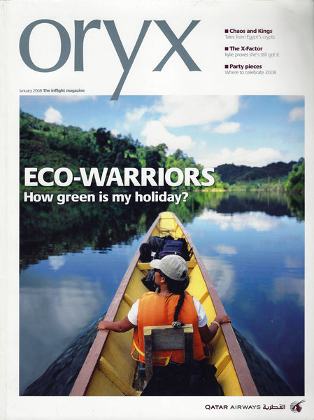 Oryx - January 2008 - Inflight Magazine - Qatar Airways