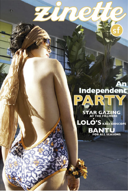 Zinette.com Cover featuring Amber and Onyx Necklace by John S. Brana Handcrafted Fine Jewelry