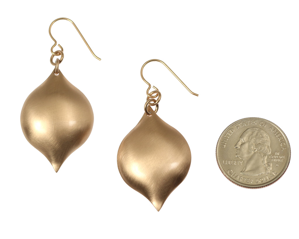 Brushed Bronze Marrakesh Drop Earrings