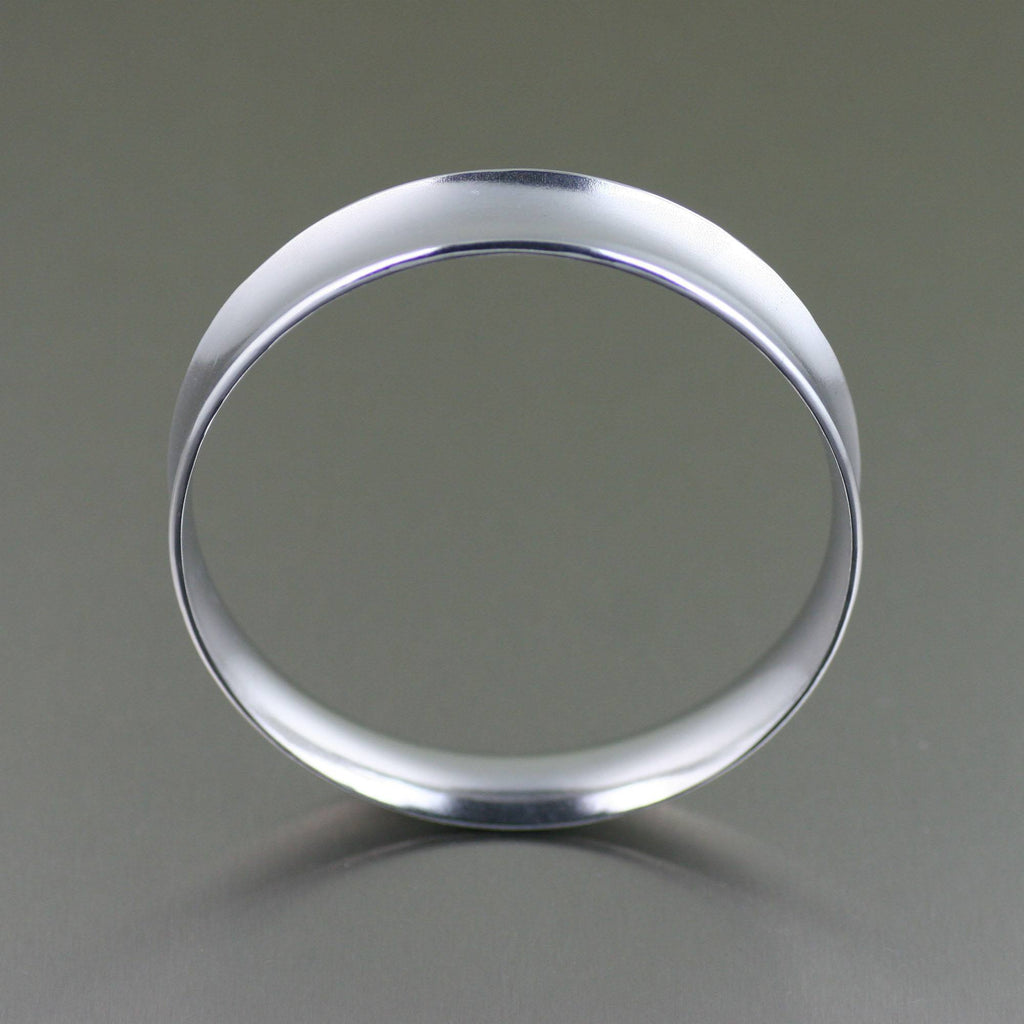 Polished Aluminum Bangle Bracelet - johnsbrana - 3