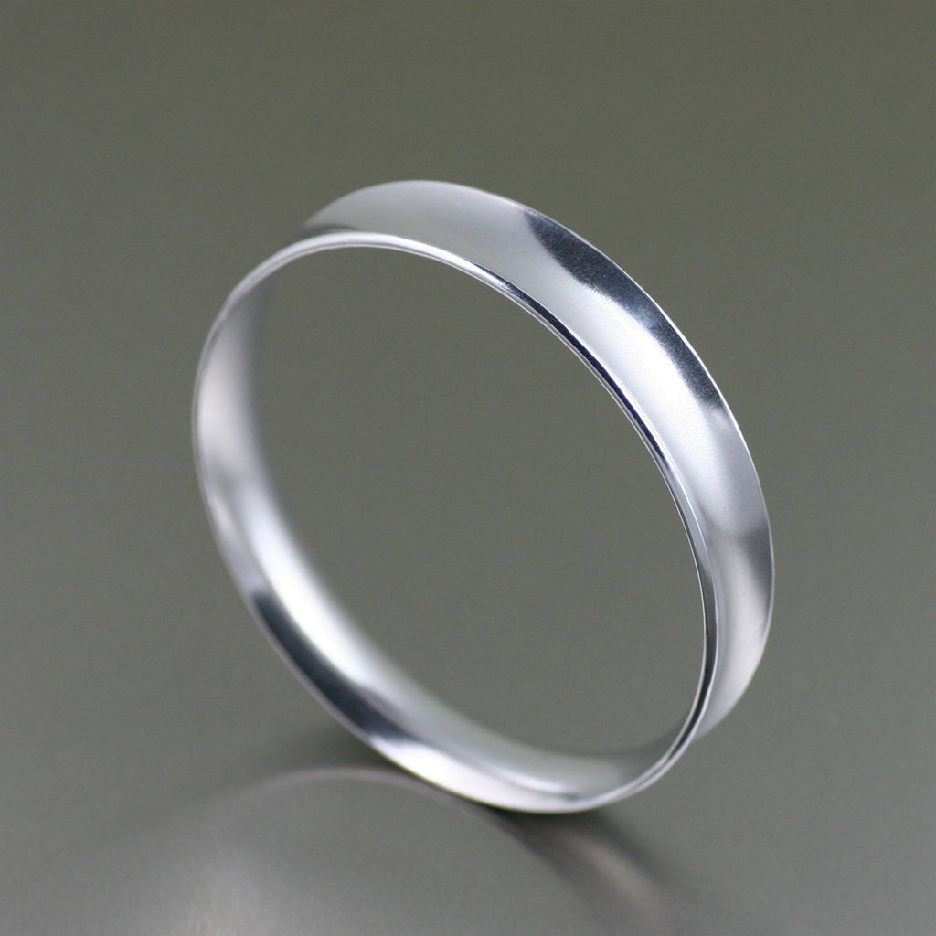 Bangles - Polished Aluminum Bangle Bracelet