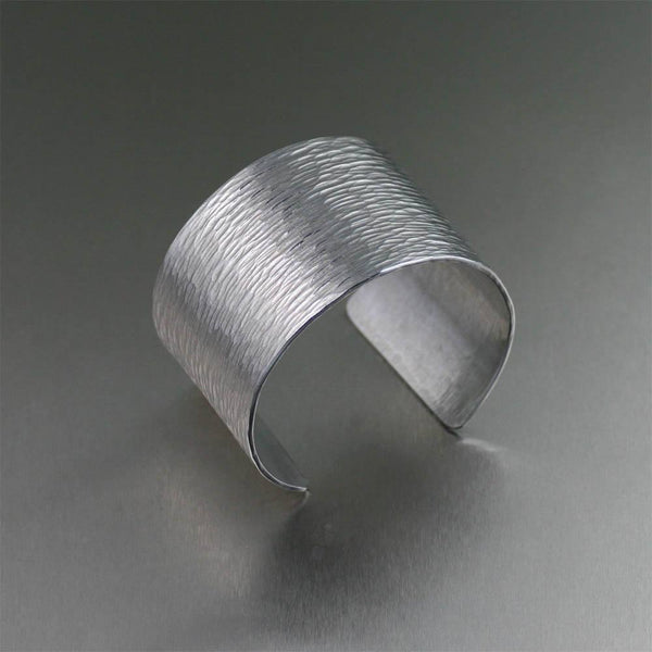 Chased Aluminum Cuff - johnsbrana