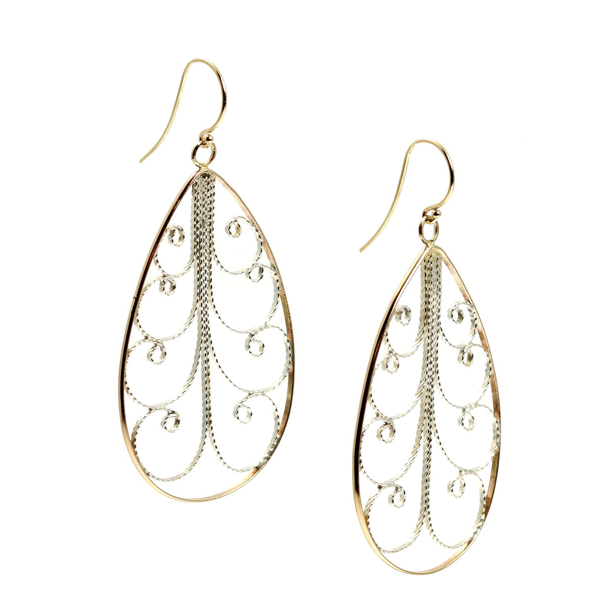 gold cut diamond white shop investments pattern earrings tangible hoop sku