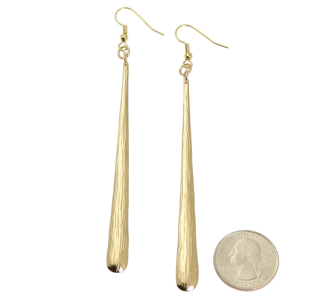 Nu Gold Bark Earrings - johnsbrana - 2