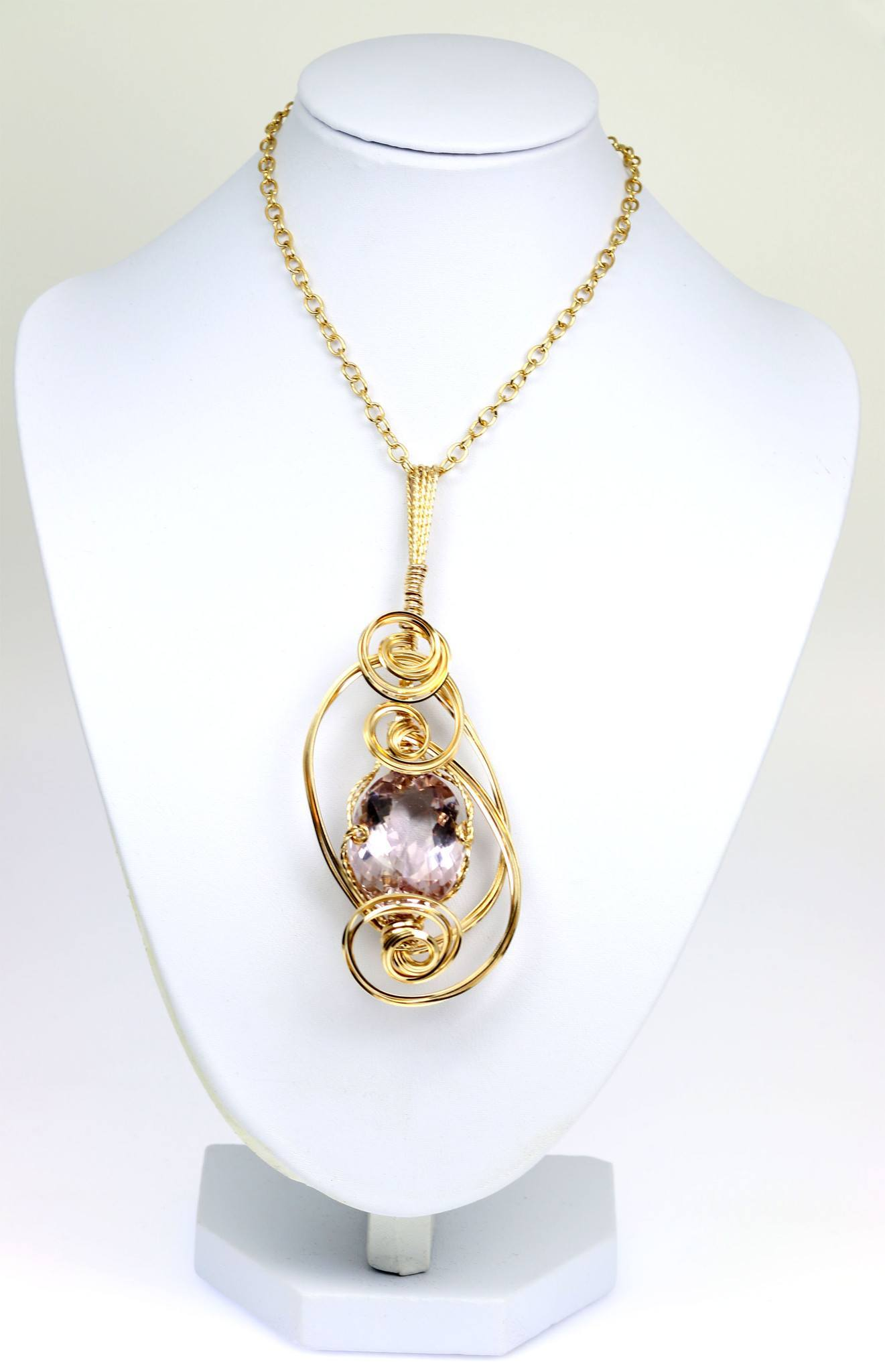 pendant diamond diamonds quartz with in cut ladies and halo gold set cushion necklace white