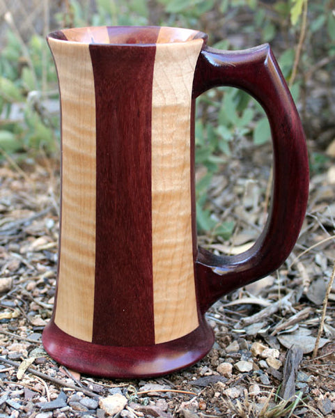 Quilted Maple and Purpleheart