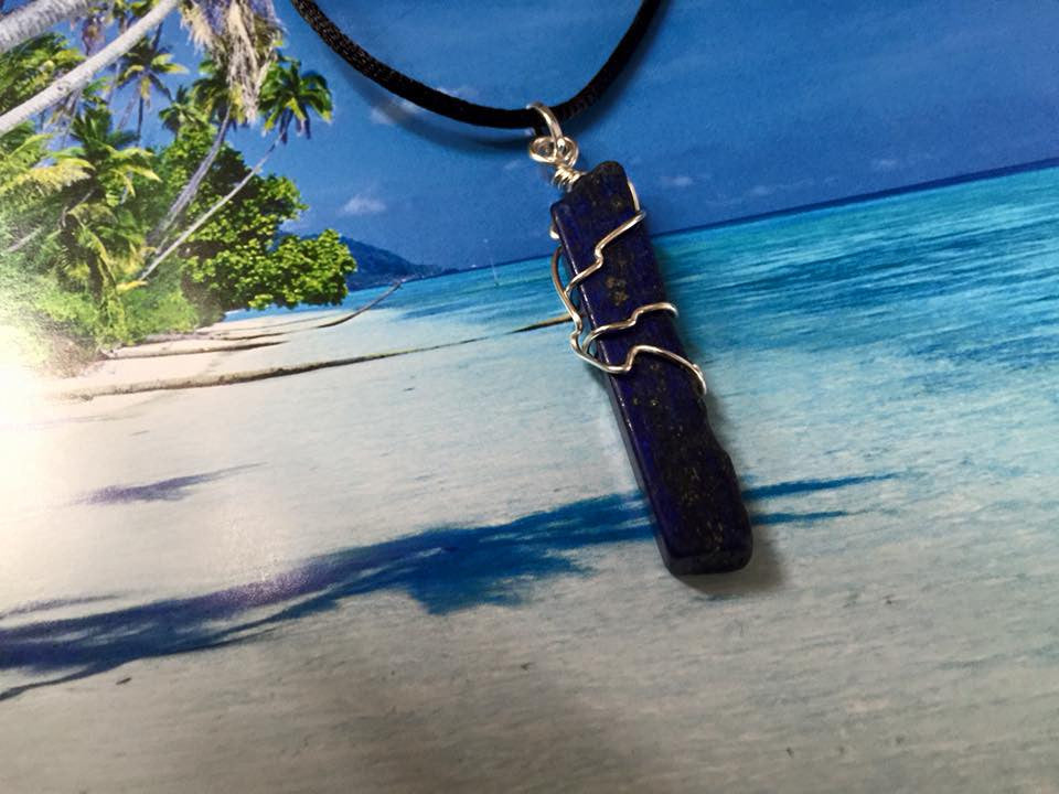 Wire Wrapped Lapis Lazuli – All About Scout
