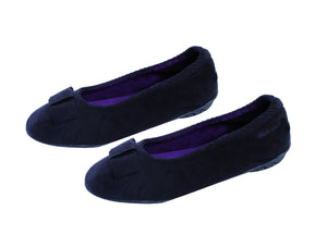 elegant ballerina slipper with heel