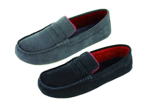 Mocassin slipper for men by Isotoner