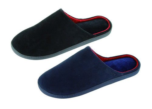Comfortable slip on slipper by Isotoner