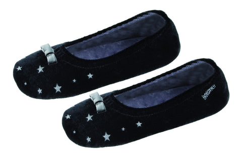 Slipper with stars for girls