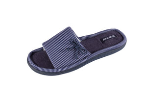 Summer Slipper French Stripe- Blue