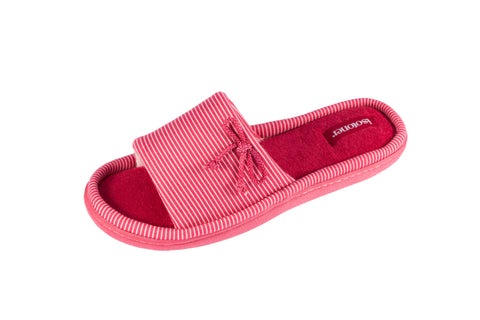 Summer Slipper French Stripe- Red